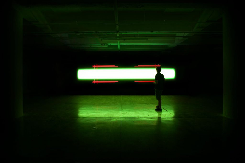 Installation view: Kurt Hentschläger, <em>SUB</em>, 2019. Courtesy of the artist